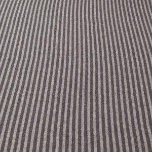 Bündchenstoff mit Streifen in grau