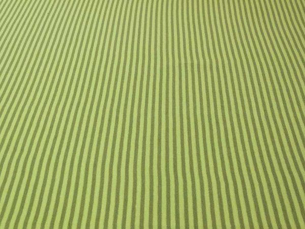 Bündchenstoff mit Streifen in grün