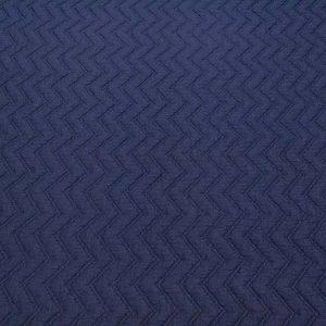 Stoff mit Zickzack Muster in blau
