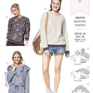 6406 Burda Style Schnittmuster Sweater