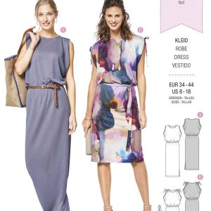 6414 Burda Style Schnittmuster Kleid
