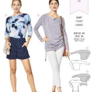 6415 Burda Style Schnittmuster Shirt