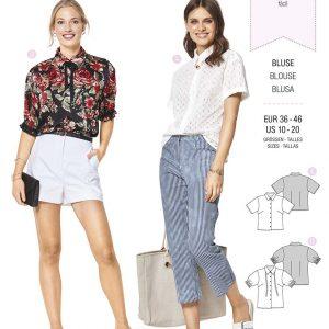 6426 Burda Style Schnittmuster Bluse