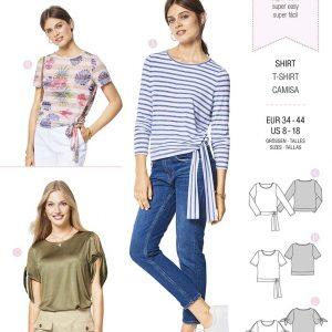 6427 Burda Style Schnittmuster Shirt