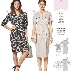 6440 Burda Style Schnittmuster Kleid