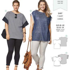 6445 Burda Style Schnittmuster Shirt