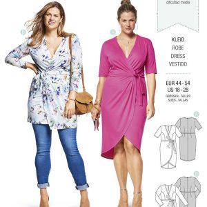 6447 Burda Style Schnittmuster Kleid