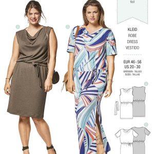6448 Burda Style Schnittmuster Kleid