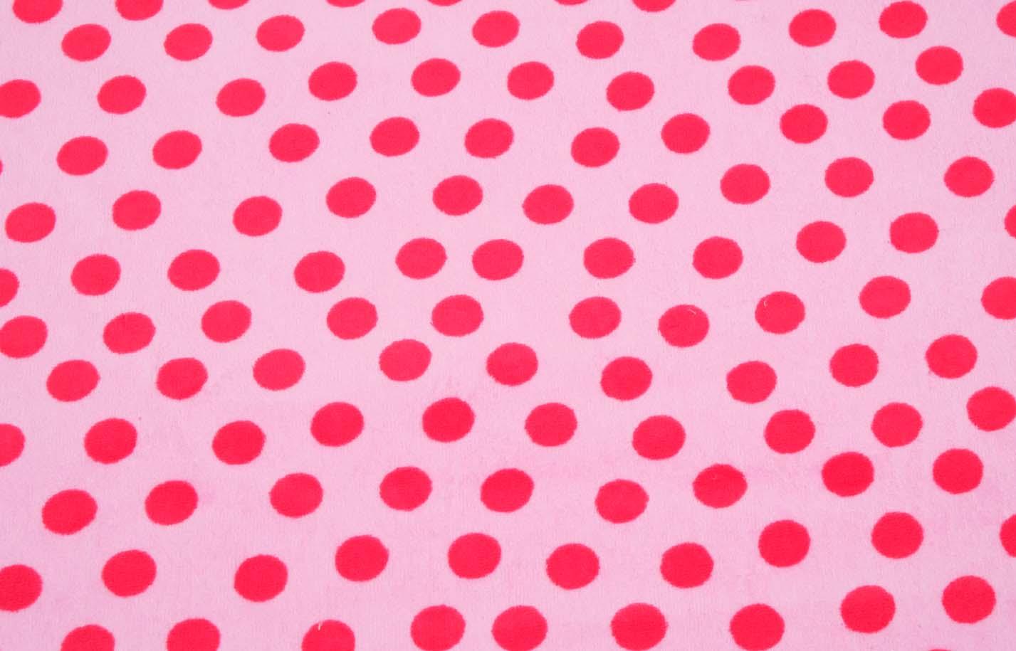 Punkte Rosa Rot Stoffekaufen Ch
