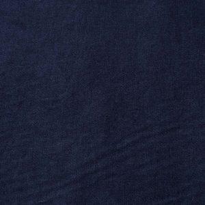 Baumwolle Viskose Samt-Stretch in blau
