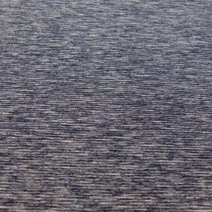 Jacquard-melange-königsblau-weiss