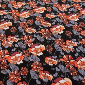 Jersey-floral-schwarz-grau-orange