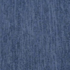 Melange-Strickstoff in blau