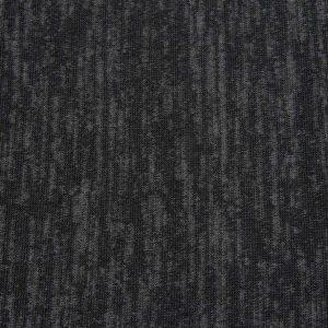 Melange-Strickstoff in schwarz