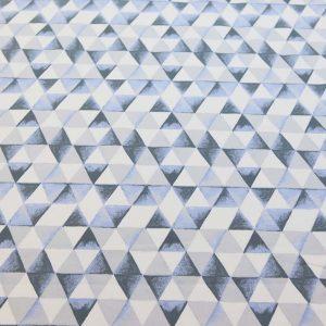 Organic-French-Terry-Dreiecke-dunkelblau-hellblau
