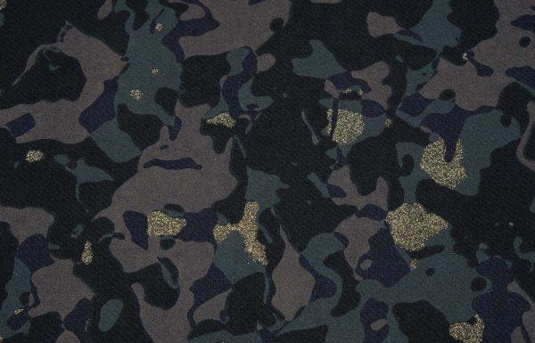 Wollstoff camouflage