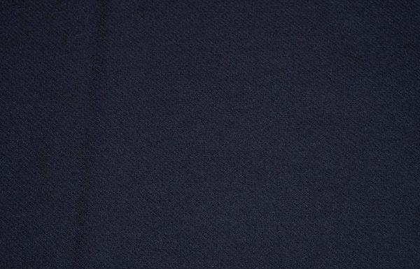 Wollstoff uni in dunkelblau
