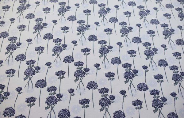 Organic-French-Terry-floral-hellblau-dunkelblau